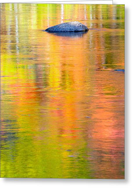 Color Reflections-1 Greeting Card
