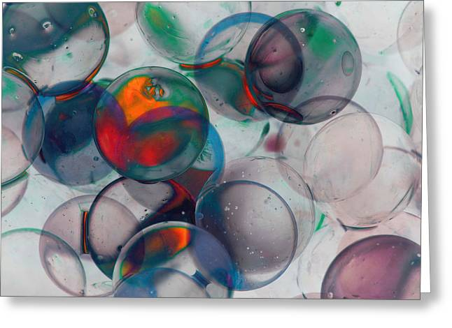 Color Spheres Greeting Card by Dennis James
