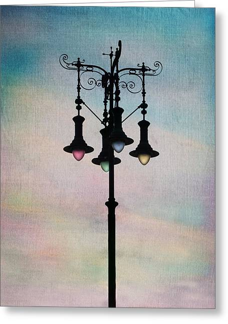 Color The Sky Greeting Card by Marianna Mills