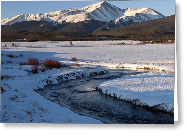 Colorado 14er Mt. Elbert Greeting Card