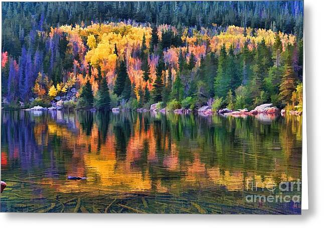 Colorado Autumn Greeting Card by Jon Burch Photography