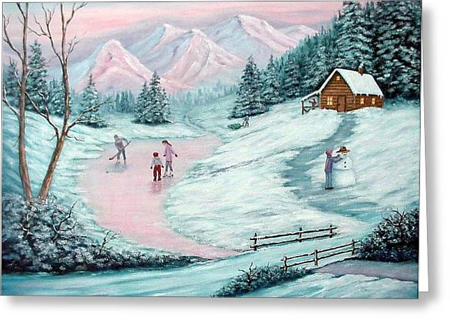 Colorado Christmas Greeting Card