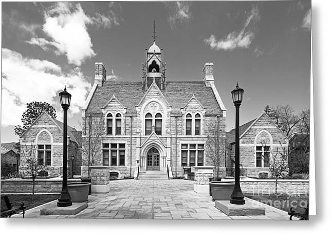 Colorado College Cutler Hall Greeting Card by University Icons
