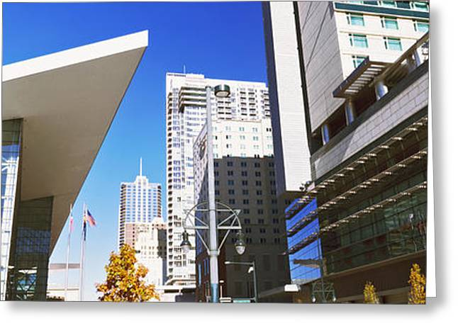 Colorado Convention Center, Denver Greeting Card by Panoramic Images
