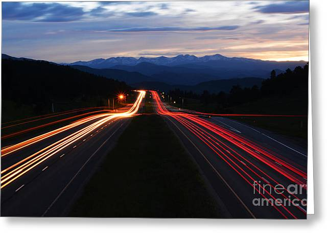 Greeting Card featuring the photograph Colorado Drive by Kate Avery