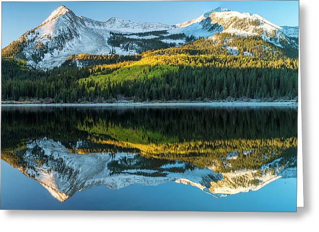 Colorado, East Beckwith Mountain Greeting Card by Jaynes Gallery