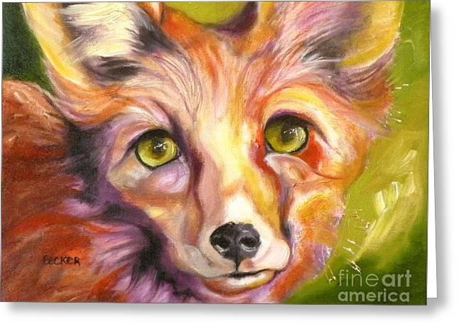 Colorado Fox Greeting Card