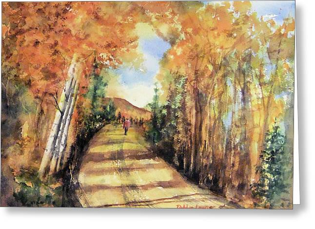 Colorado In September Greeting Card