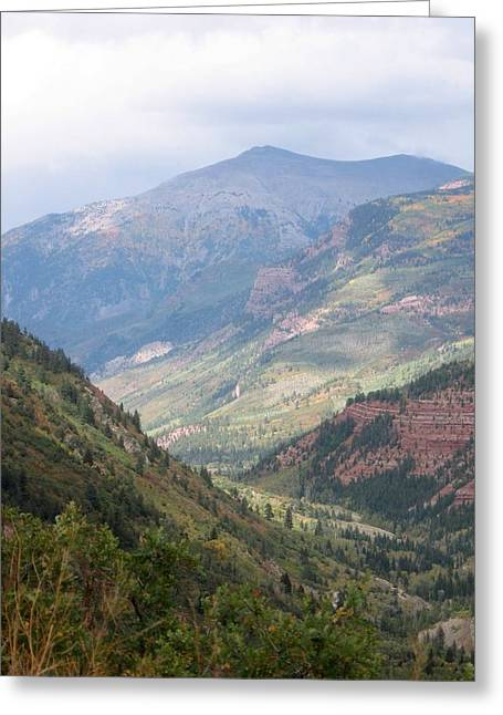 Greeting Card featuring the photograph Colorado by Kristine Bogdanovich
