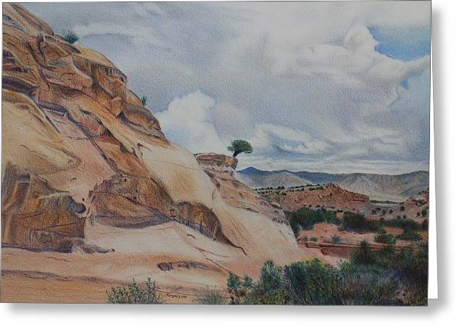 Colorado Monument Country Greeting Card