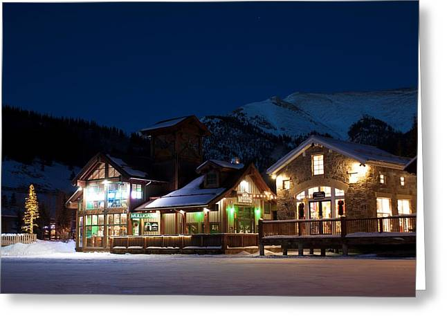 Colorado Mountain Life Greeting Card by Michael J Bauer