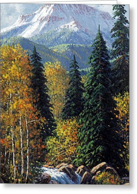 Colorado Greeting Card by Randy Follis