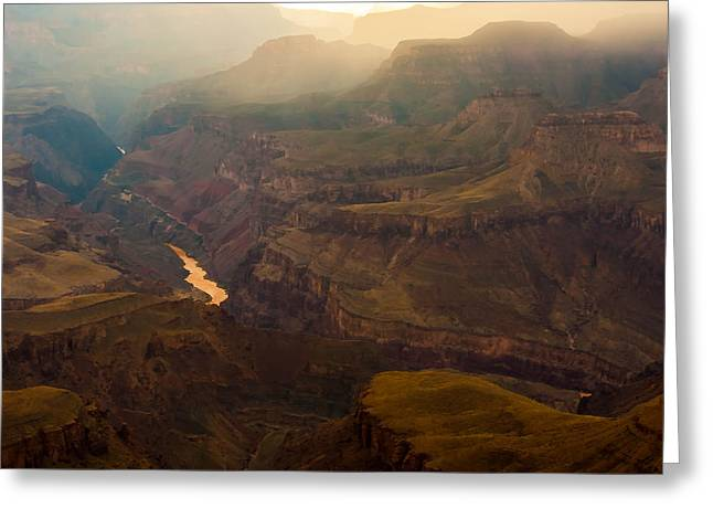 Colorado River Grand Canyon Greeting Card