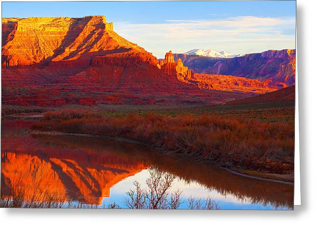Colorado River Reflections Greeting Card