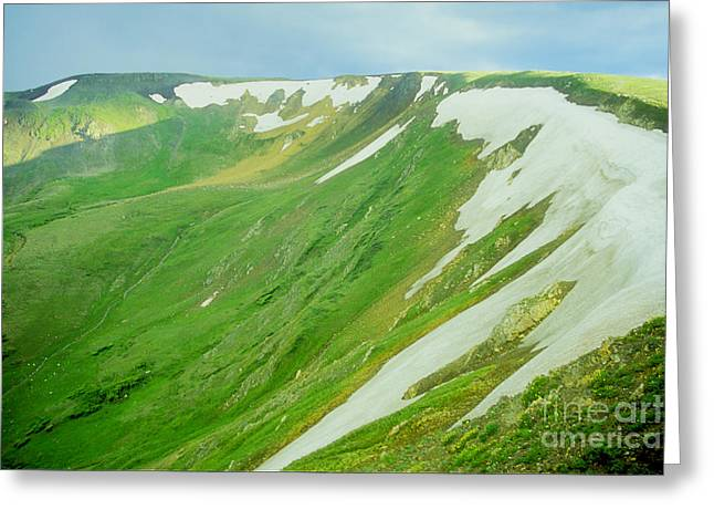 Colorado Snow Vista Greeting Card
