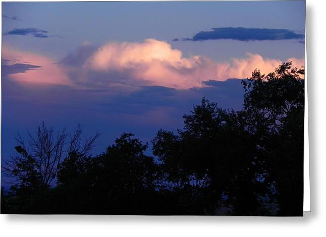 Colorado Storm Clouds Greeting Card