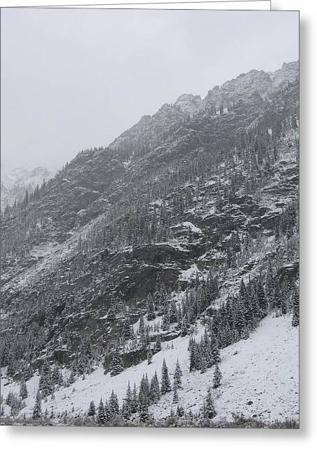 Greeting Card featuring the photograph Colorado Storm by Kristine Bogdanovich