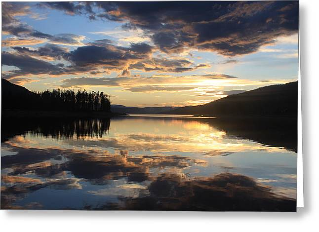 Greeting Card featuring the photograph Colorado Sunset by Chris Thomas