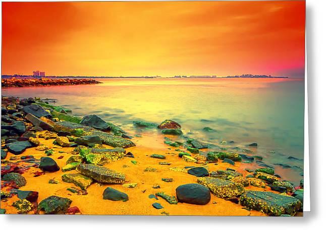 Colored Dream Greeting Card by Anatoliy Urbanskiy