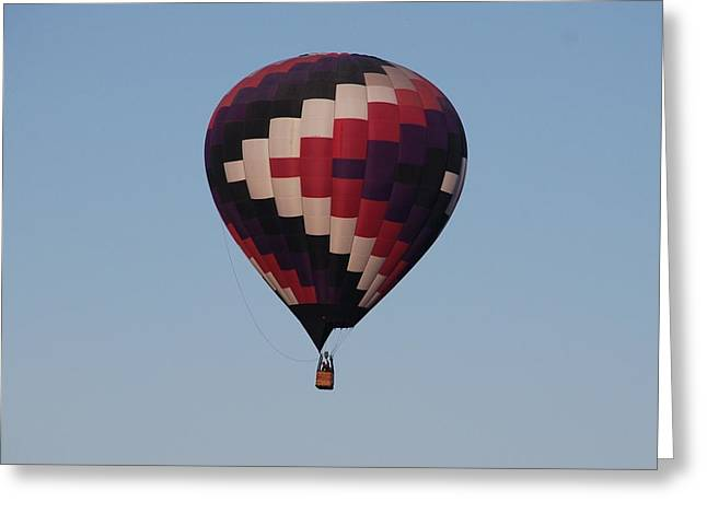 Colorful Balloon  Greeting Card by Miguelito B