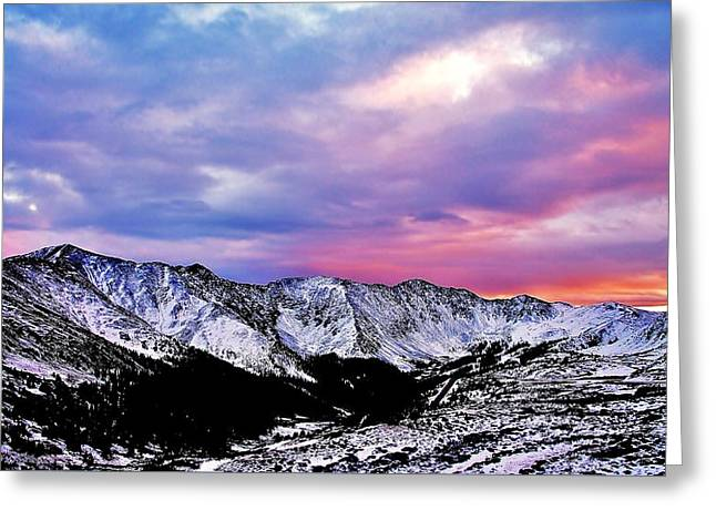 Colorful Colorado Greeting Card by Matt Helm