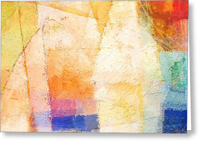 Colorful Day Greeting Card by Lutz Baar