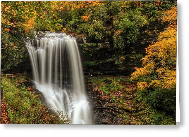 Colorful Dry Falls Greeting Card