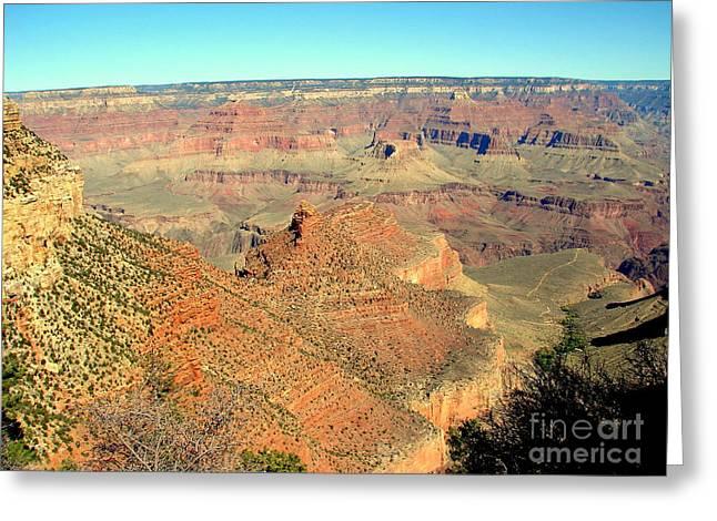 Colorful Grand Canyon Greeting Card by John Potts