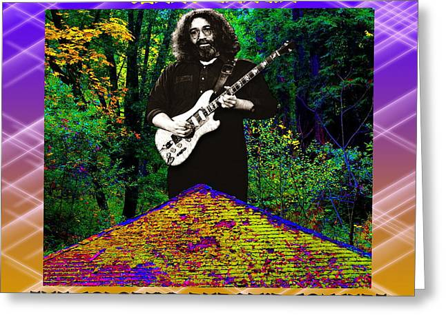 Greeting Card featuring the photograph Colorful Pyramid Concert by Ben Upham