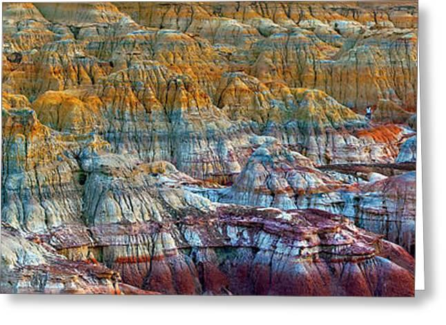 Colorful Rocks Greeting Card