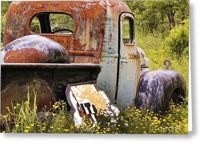 Colorful Truck Greeting Card