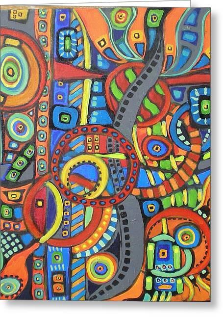 Coloroso #21 Greeting Card