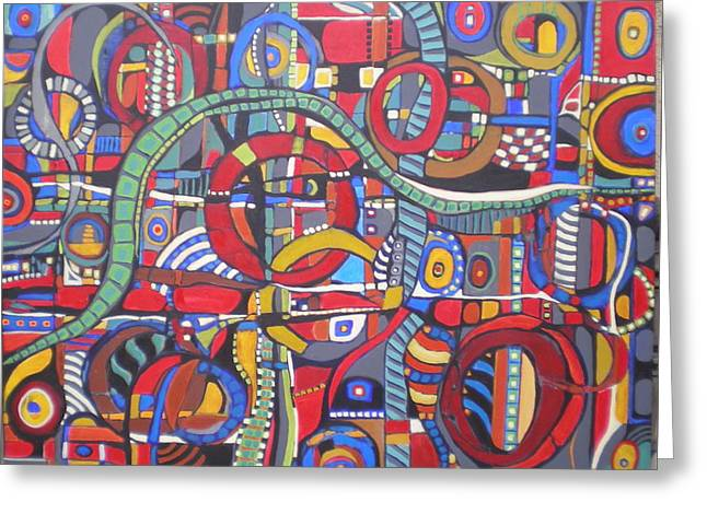Coloroso #23--sold Greeting Card