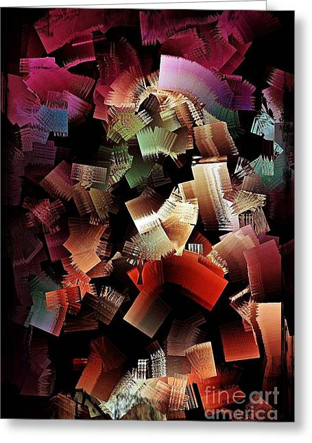 Colors 1 Greeting Card by Ben Yassa