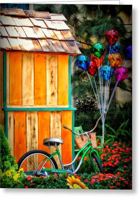 Colors Galore Greeting Card by Tricia Marchlik