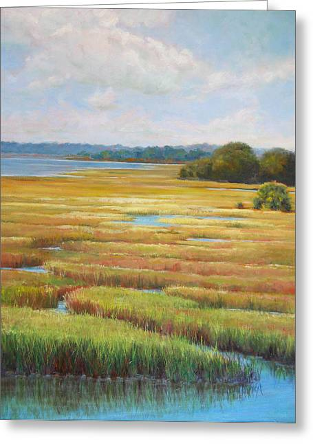 Colors In The Marsh Greeting Card