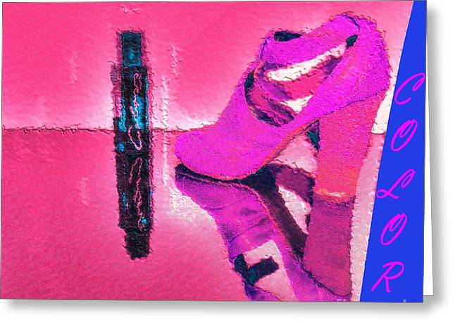Colors Greeting Card by Liane Wright