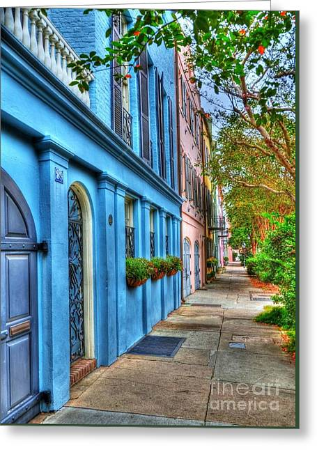 Colors Of Charleston 4 Greeting Card