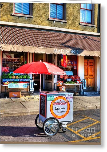 Colors Of Cincinnati 3 Greeting Card