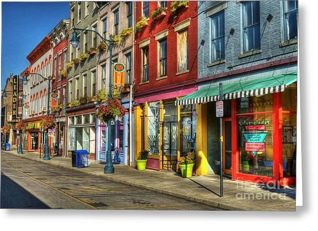 Colors Of Cincinnati Greeting Card