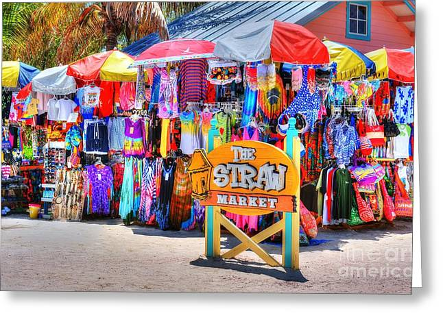 Colors Of Coco Cay 2 Greeting Card by Mel Steinhauer