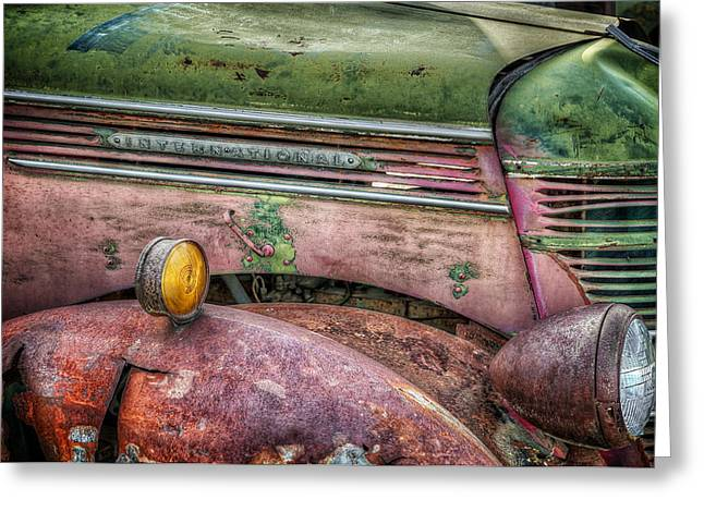 Colors Of Corrosion Greeting Card by Michael Gass