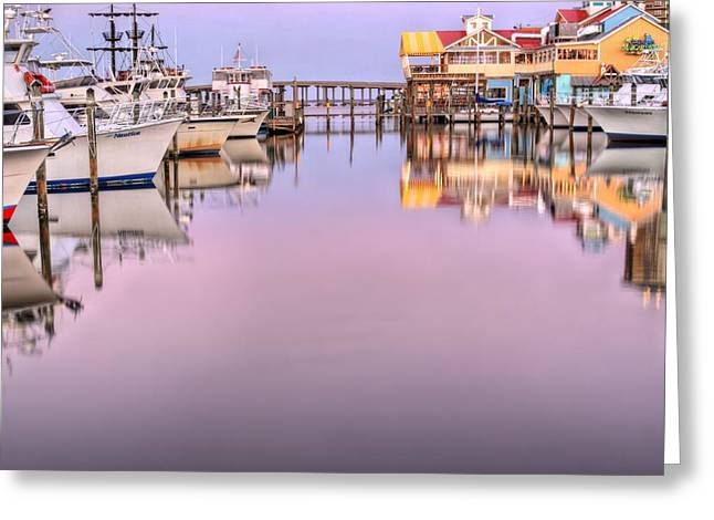 Colors Of Destin Greeting Card by JC Findley