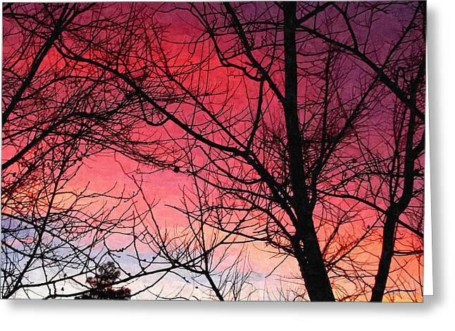 Colors Of Dusk Greeting Card by Glenn McCarthy Art and Photography