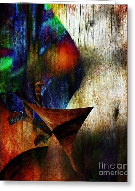 Colors Of Eve Greeting Card by Edmund Nagele