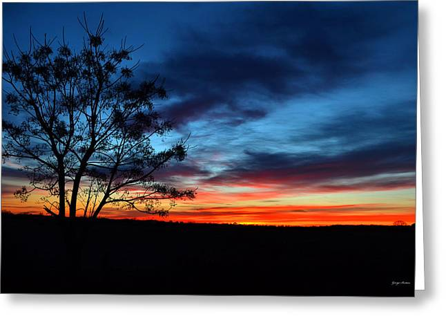 Colors Of Nature - Sunrise 001 Greeting Card
