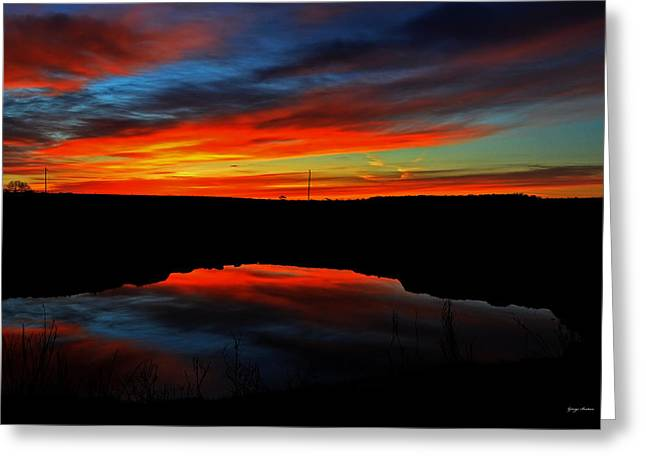 Colors Of Nature- Sunrise 002 Greeting Card