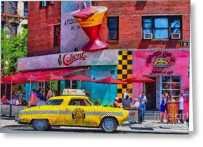 Colors Of New York Greeting Card