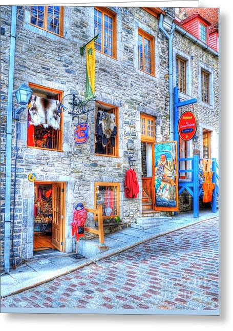 Colors Of Quebec 12 Greeting Card