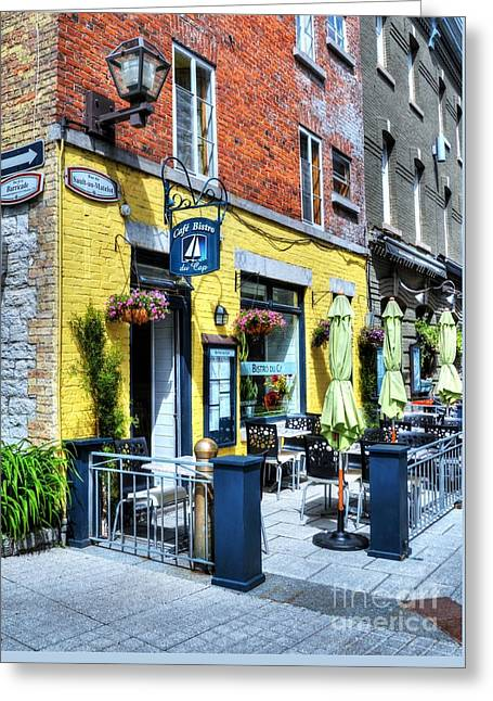 Colors Of Quebec 18 Greeting Card by Mel Steinhauer